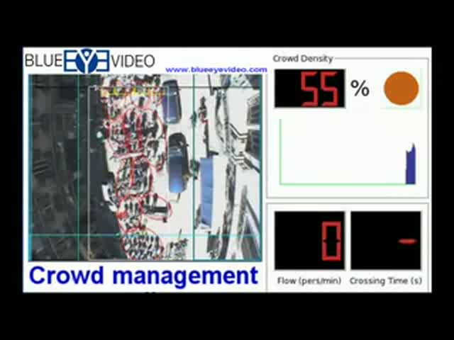 Blue Eye Video Crowd Management