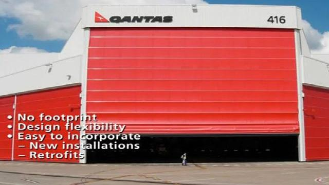 Megadoor Aerospace Hangar Doors