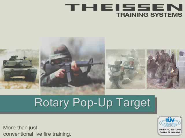 Rotary Pop Up Targets