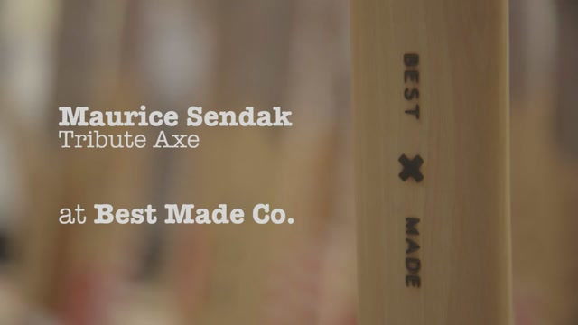 Could There Be A Cooler Maurice Sendak Tribute Than This Awesome Axe?