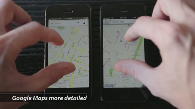 Google Maps Vs Apple Maps: Total Domination