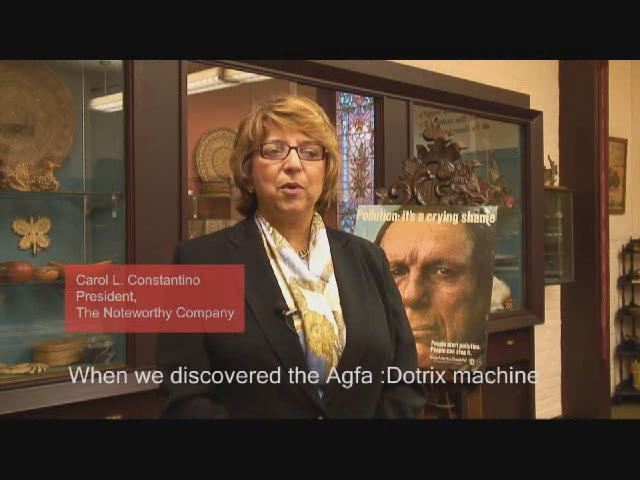 The Noteworthy Company on the AGFA :Dotrix Modular...