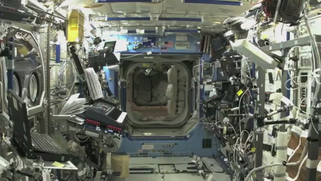 inside space station bed - photo #30