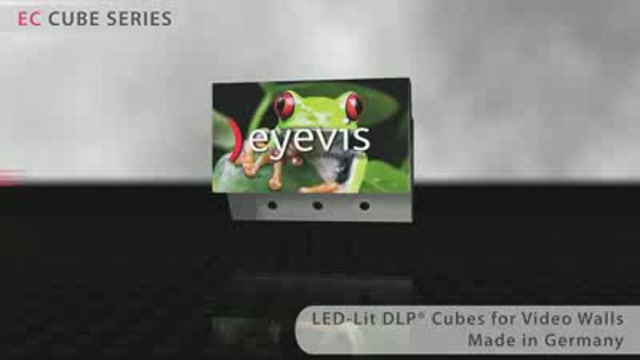 LED Lit EC Series Display Cubes
