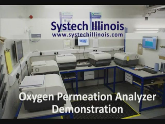 8001 Oxygen Permeation Analyser