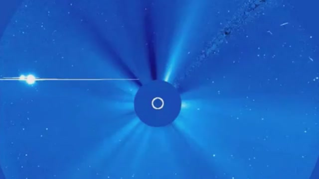 This Proton Torpedo Is Venus On Its Current Interception Course Of The Sun