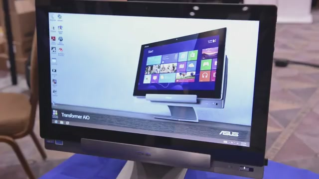 Asus Transformer All-In-One: Giant Android/Windows 8 Tablet PC