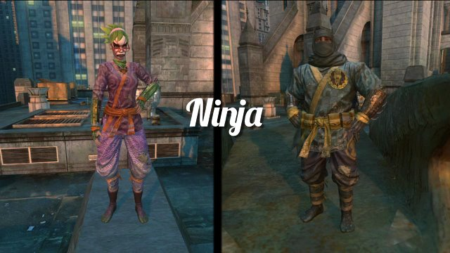 Dress Up In Ninja, Wrestler And Business Bat-Clothes With The Free Gotham City Impostors DLC