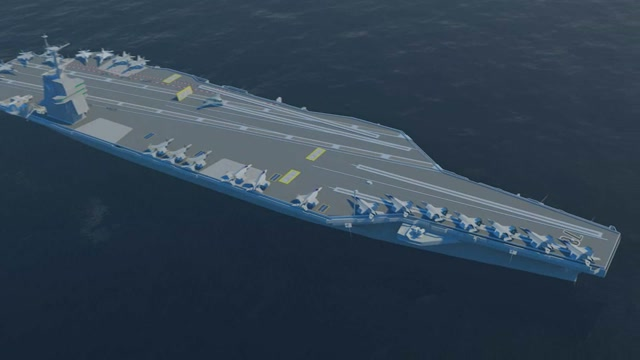 This Is How The US Navy Is Building Their New Nuclear Supercarrier Class