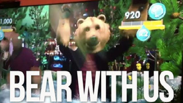 Watch The Xbox Kinect Turn A Kotaku Editor Into A Groovy Bear