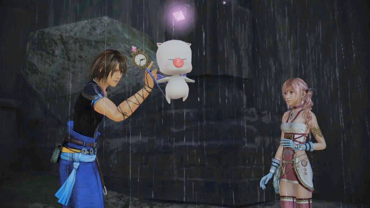 Behold The Awesome Power Of Final Fantasy XIII-2's Moogle