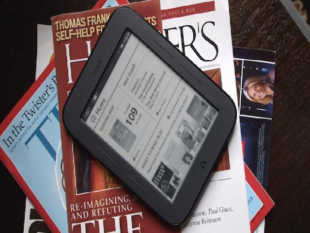 Barnes & Noble Simple Touch Nook Review: This Is The Ereader You Want