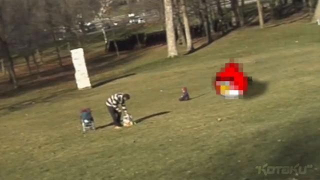 OK, Now This Video Of An Angry Bird Attacking A Baby Is Totally Real. Swear.