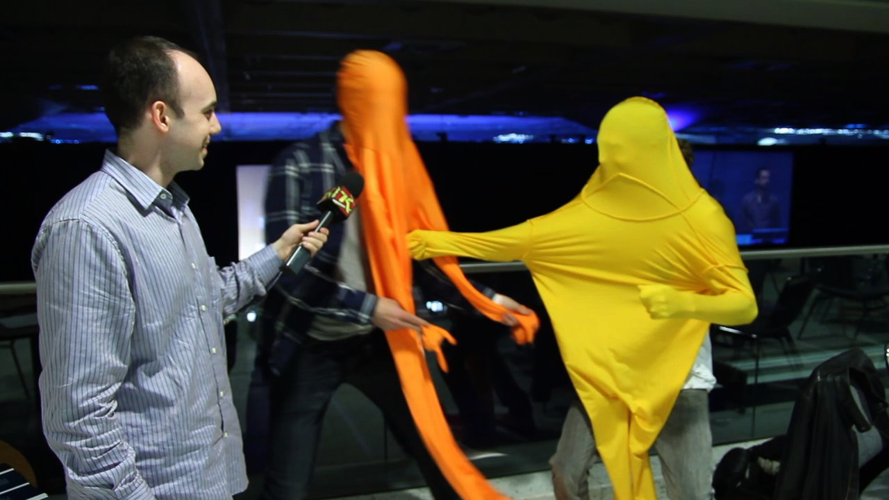 Indie Gaming's Weird Winner Nidhogg, Acted Out For You
