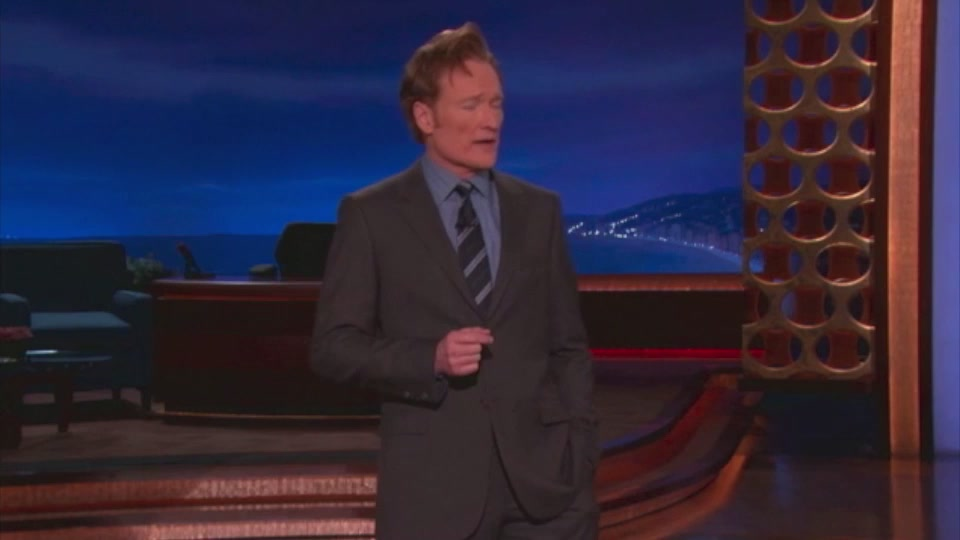 Watch Conan Relentlessly Jab Apple Over The iPad Launch
