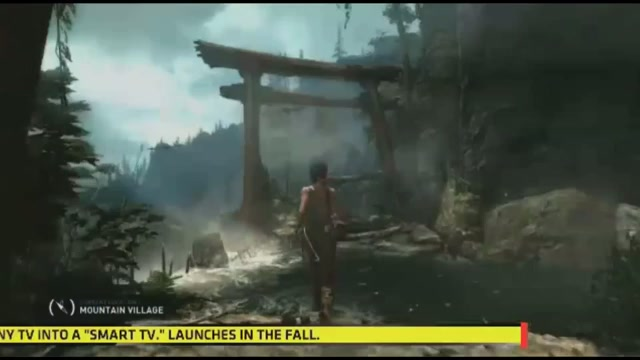 The Next Tomb Raider Journeys Into Uncharted Territory