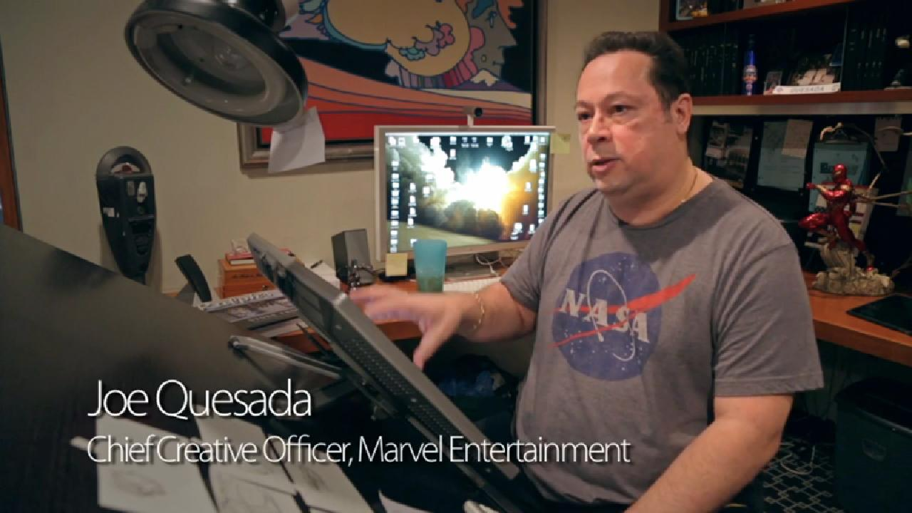 The Technology That Turned Joe Quesada Into A Legendary Comic Book Artist
