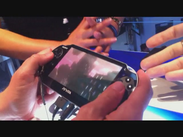 The Disorienting, Possibly Exciting Gravity For Vita Being Played By Shaky Hands