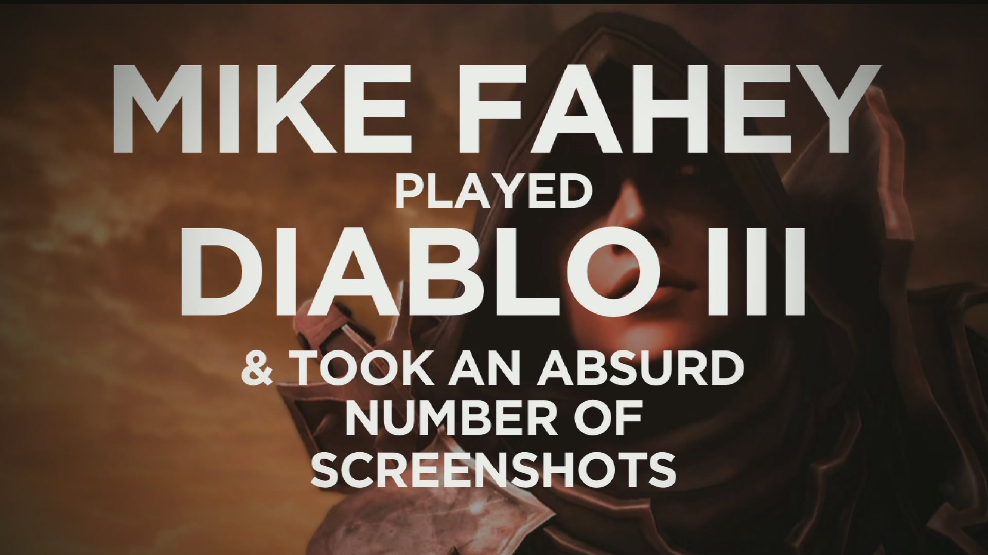 My Entire Diablo III Play Through In Under Five Minutes