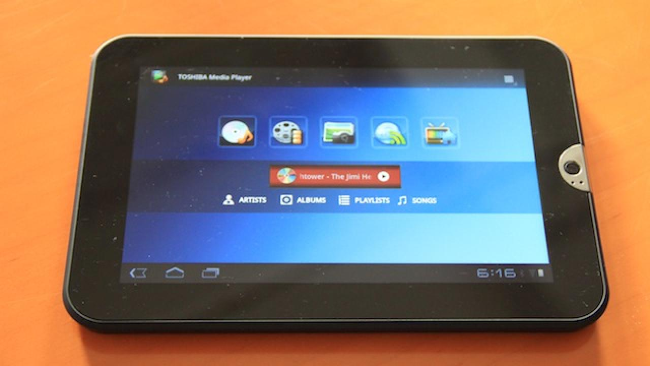 Toshiba AT1SO 7-Inch Tablet Hands-On: $449 In October