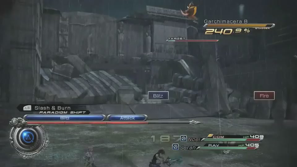 Check Out Final Fantasy XIII-2's Tweaked Battle System