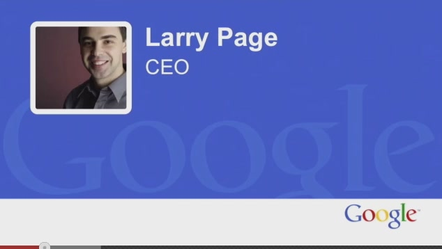 Google Co-Founder Larry Page Really Doesn't Sound Well