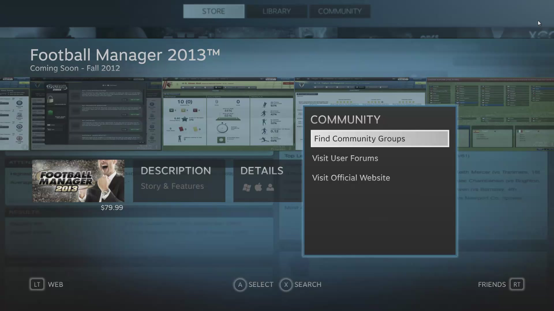 See Steam's Big Picture Mode In Action (It's Awesome)