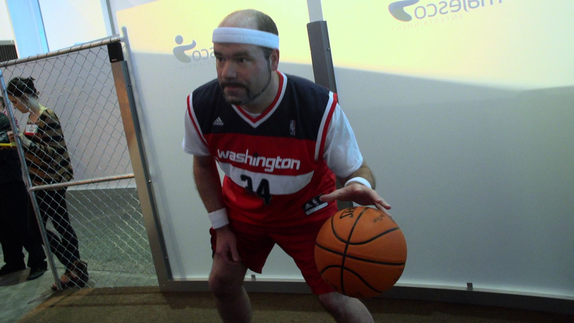 As Promised, Here's Me Looking Like An Idiot Playing NBA Baller Beats