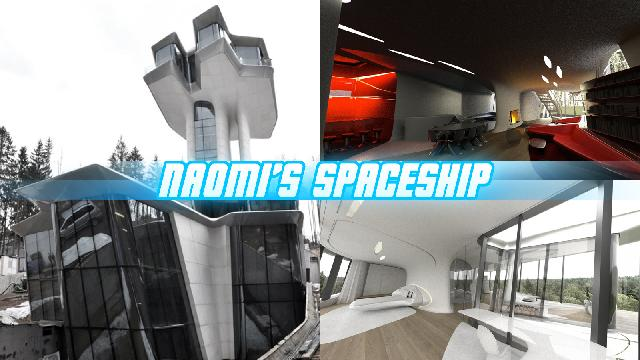 Inside Naomi Campbell's New Spaceship House