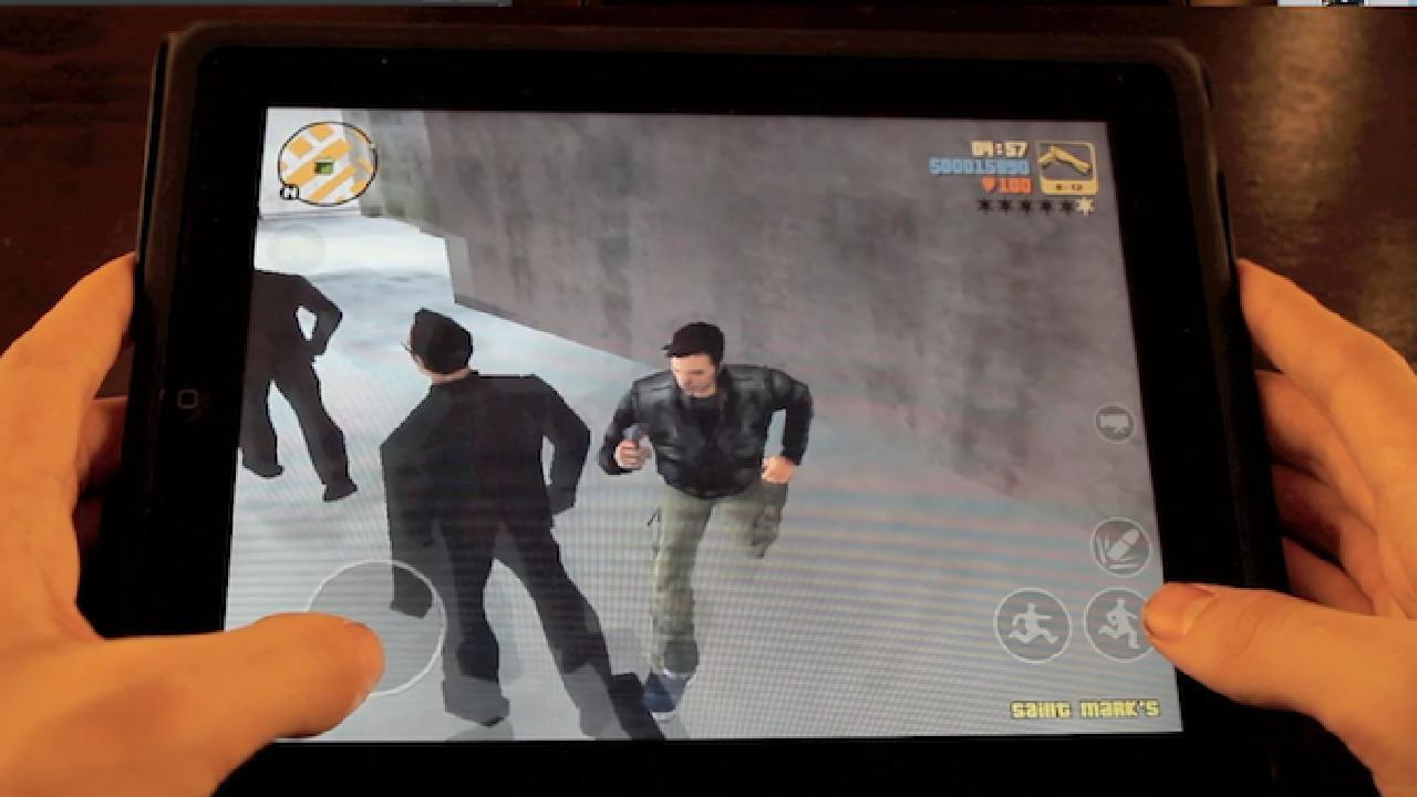 Wow. GTA III Is On My IPad, And It Really Works