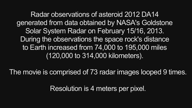 Watch Last Week's Asteroid Fly By Peacefully Instead Of Destroying Us
