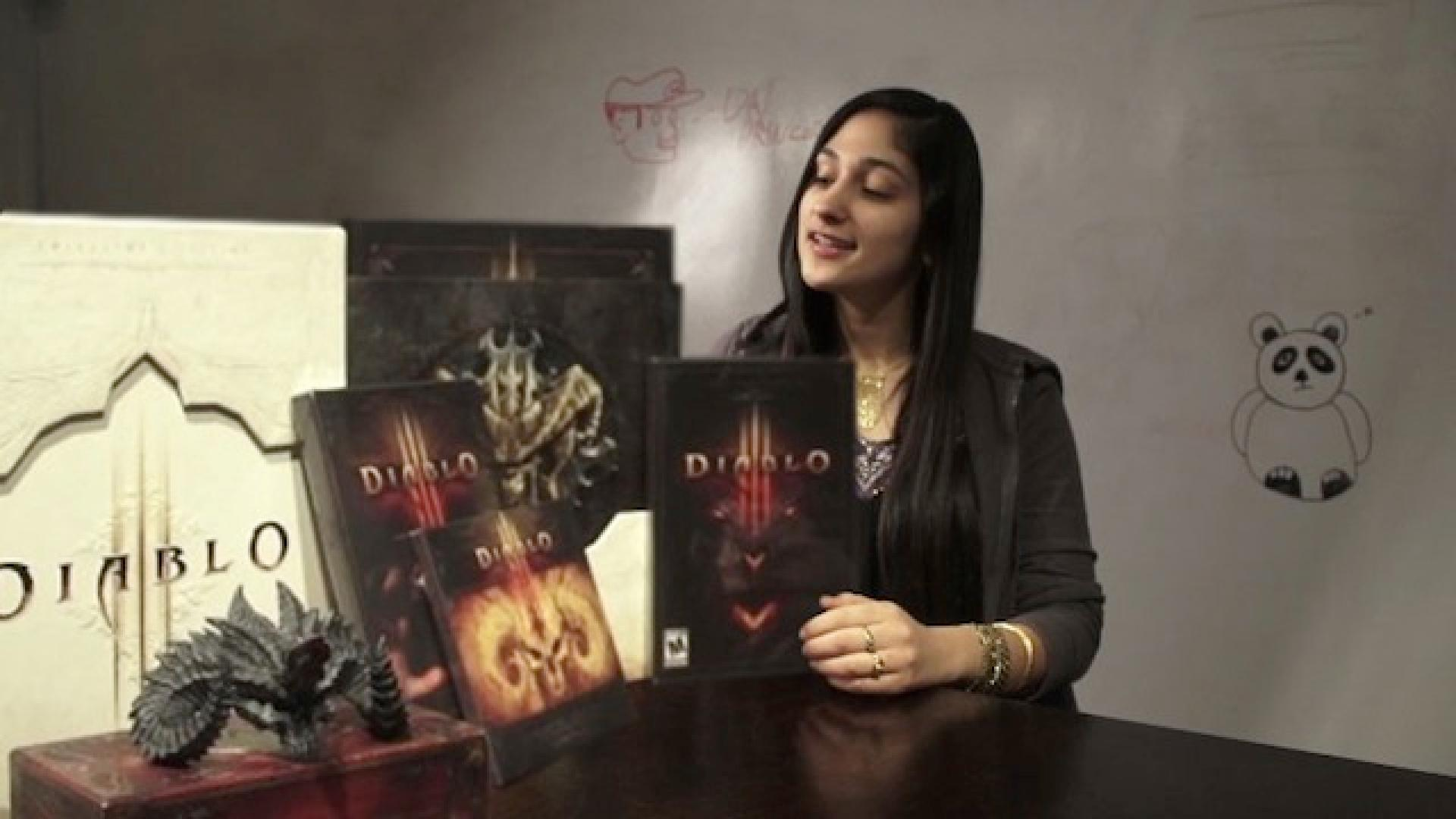 Check Out All The Loot In The Diablo III Collector's Edition