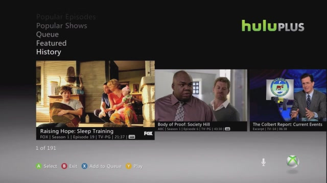 Here's A Sneak-Peak Of Hulu Plus On Xbox 360