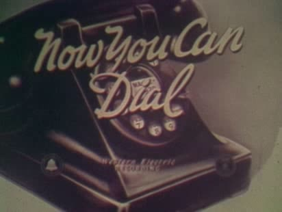'Now You Can Dial' Teaches You How To Call Your Sepia-Coloured Friends