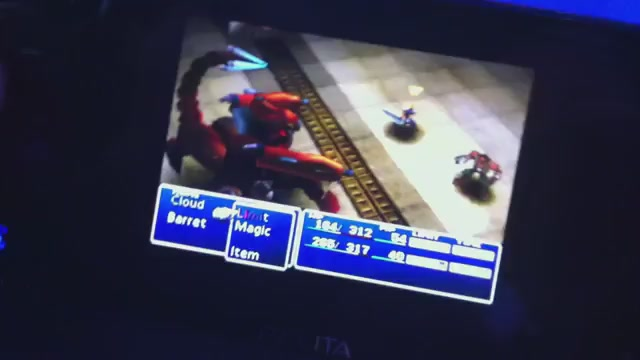 Here's Proof That Final Fantasy VII Will Actually Run On Your Vita