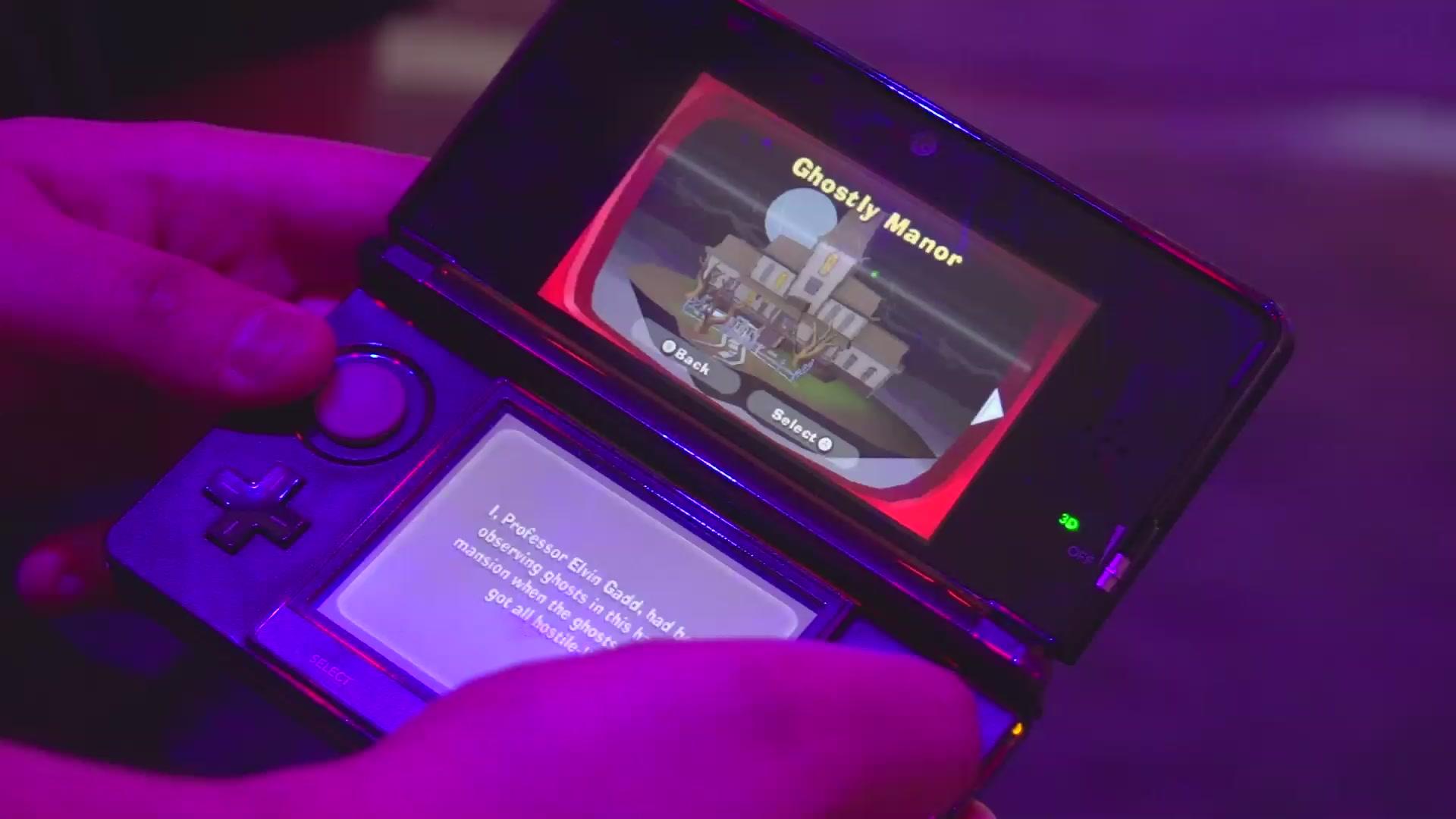 Watch Me Vacuum Ghosts In Luigi S Mansion Dark Moon