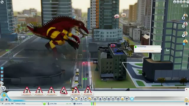 EA Got My SimCity Back, So I Killed It With A Giant Fire-Lizard