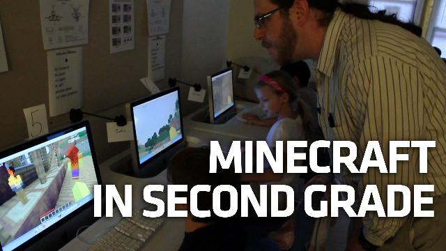 We Took A Field Trip To The Minecraft School