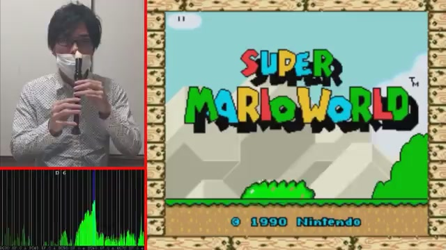 Man Plays Super Mario World With His Nose
