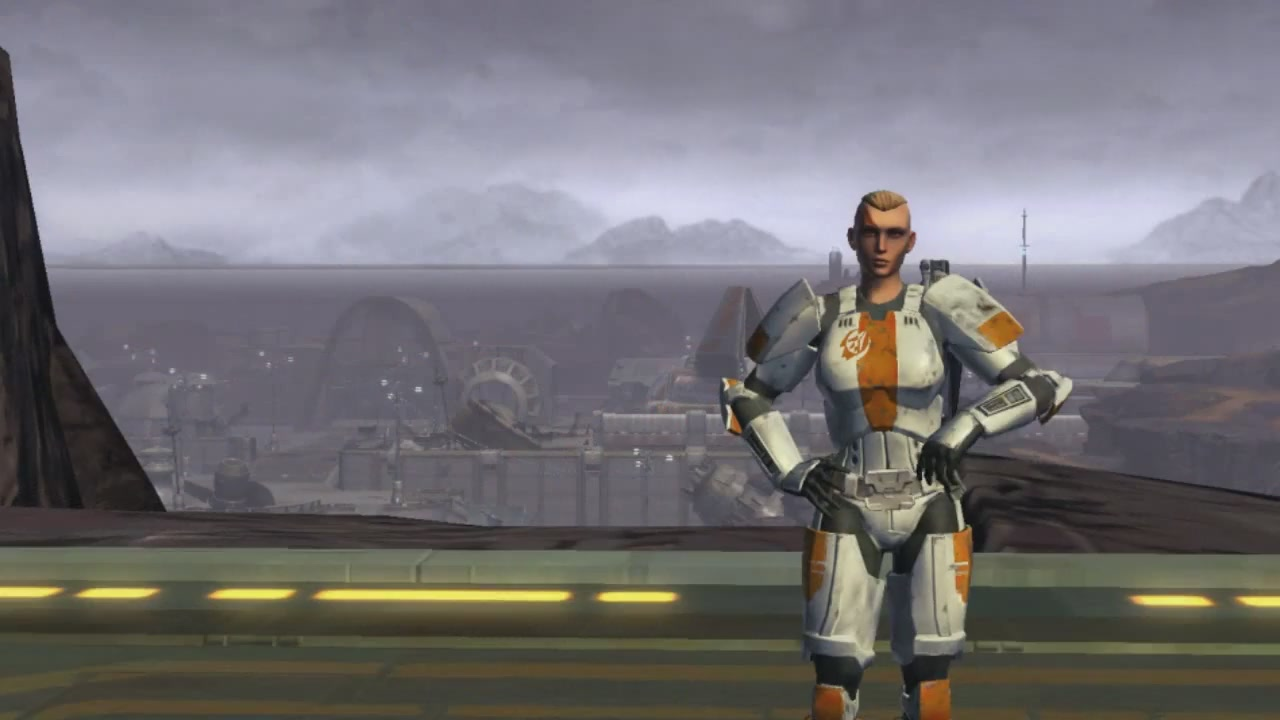 The Old Republic's Trooper Is One Hell Of A Woman