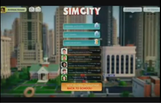 Here's Video Footage Of The New SimCity's 'World' Multiplayer Mode