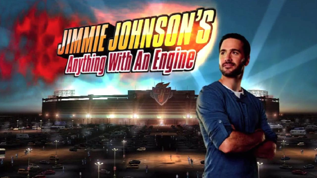 Jimmie johnson 39 s anything with an engine isn 39 t your for Anything with a motor