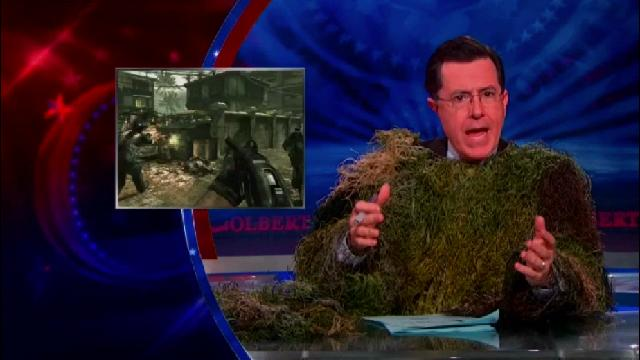 Stephen Colbert Points Out How Absurd It Is To Blame Video Games For Violence