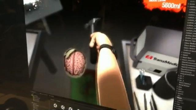 Surgeon Simulator 2013's Brain Surgery Treats Patients' Skulls Like Eggs