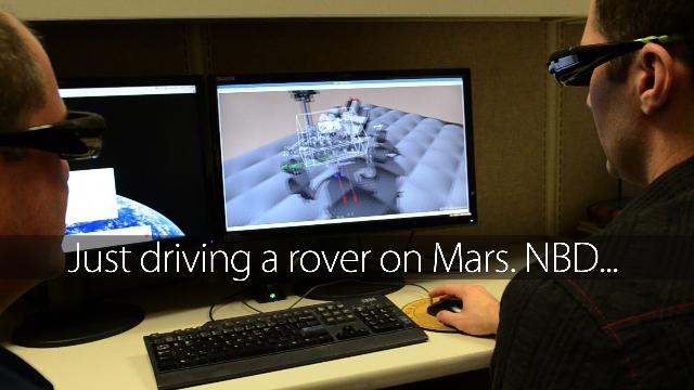 The Beautiful Video Game That Drives NASA's Curiosity Mars Rover