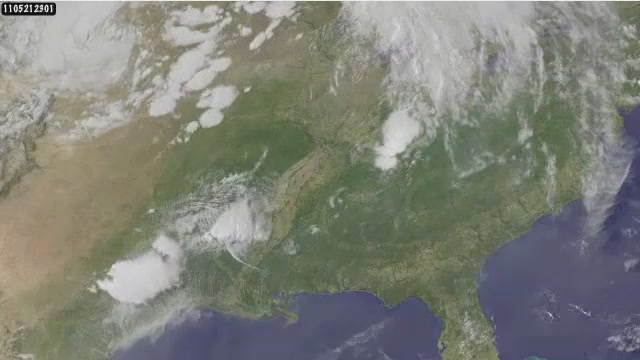 What Five Days of Deadly Tornadoes Look Like From Space