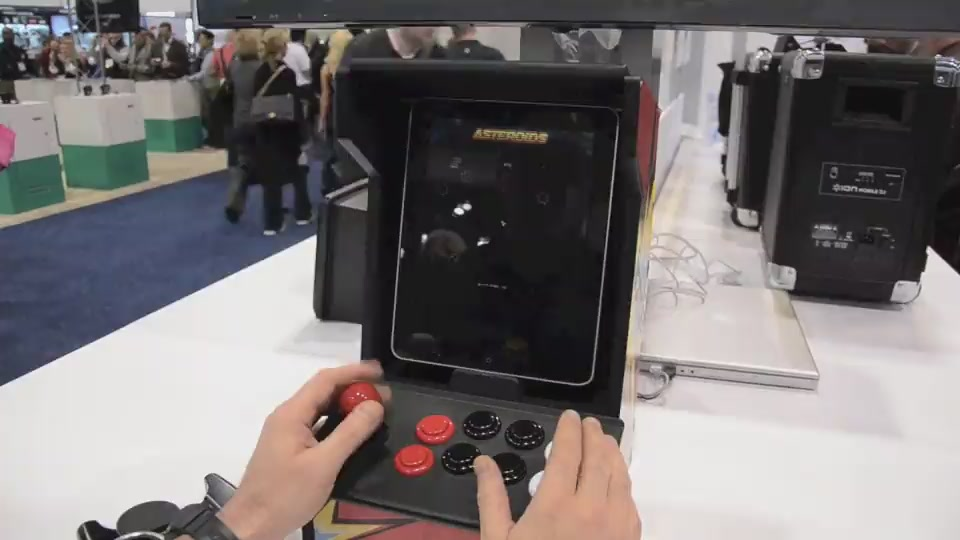 Hands-On With The Ion Audio iCade: Buttons Fit For Mashing