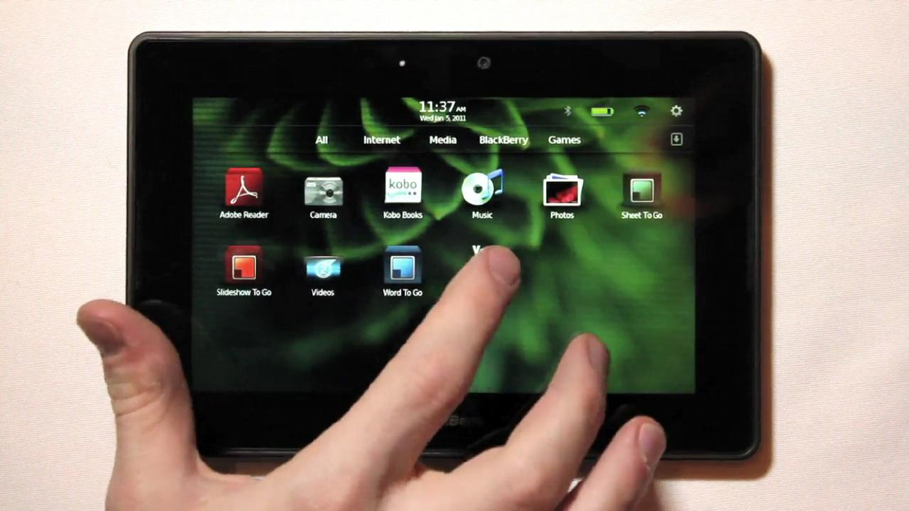 Money Shot: The Blackberry Playbook Tablet
