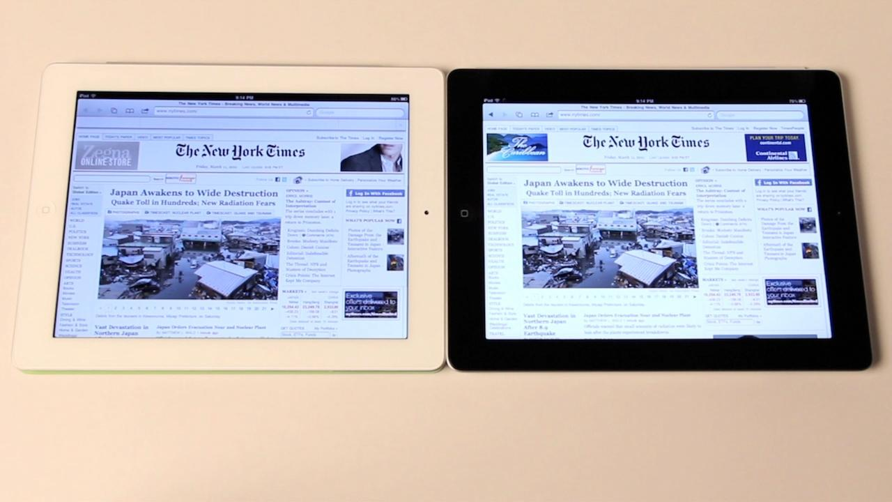 The iPad 2 Burning Question: Black Or White?