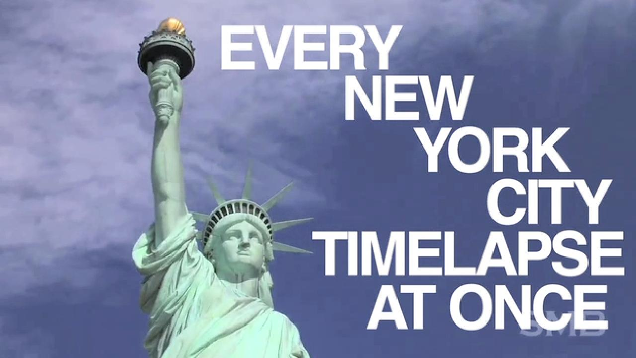 Every New York Time Lapse Fused Into One